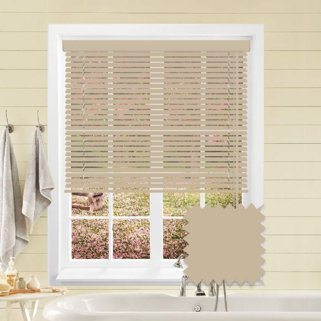 Fawn venetian blind - Just Blinds